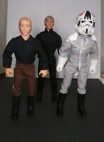"""Star Wars Luke's & AT-AT Driver 12"""" Inch Collector Figures Lot # 3"""