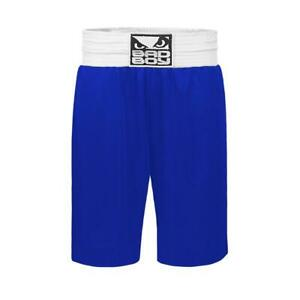 Bad Boy MMA Stinger Boxing Shorts Blue Training Fight Gym Martial Arts Kick