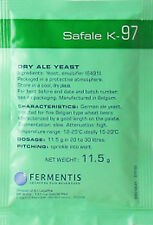 Safale K-97 Yeast, 11.5g - 10-Pack