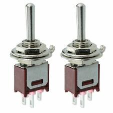 2 x Subminiature On-Off-On Toggle Switch 1.5A