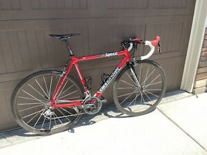 Cannondale Six13 53cm w/ Sram Red Sub 15 lbs Carbon Wheels