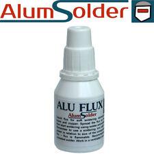 Stainless steel soldering flux use soldering iron simplicity AlumSolder Chrome