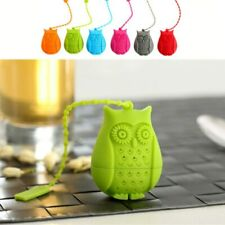Silicone Filter Infuser Owl Tea Bags Tea Strainer Diffuser Coffee Tea Filtration