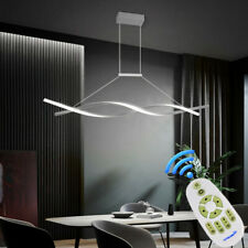 LED Modern Acrylic Chandelier Living Room Ceiling Light Pendant Lamp Fixture