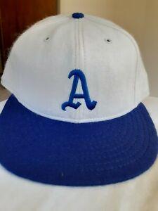 Vintage Philadelphia A's  American Needle Plain Logo Fitted size 7 Hat Cap