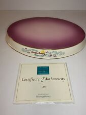 Wdcc Disney Sleeping Beauty Dancing Couples Base + Certificate Of Authenticity