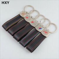 S-Line Leather Keychain for Audi Key Chain Sline Keyring BMW R RS New Band