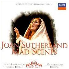 JOAN SUTHERLAND -  Mad Scenes - DECCA  CD