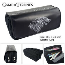Game of Thrones Stationery Pencil Pen Case Bag Makeup Cosmetic Storage Pouch