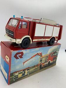 CONRAD 3090 - Mercedes Rosenbauer RFC-11 Fire Engine 1/50 Scale Diecast MIB
