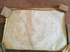 Large Roll Of Old Maps. Vintage. Antique  Job Lots & Lots. Ordinance Survey #6