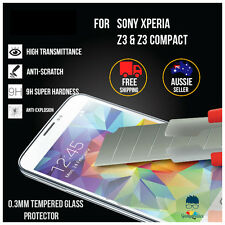 Premium Tempered Glass Screen Protector Guard for Sony Xperia Z3 Z3 Compact