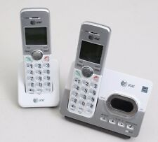 AT&T EL52253 Cordless Phone 2 Handset Answering System Caller ID DECT 6.0