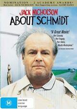 About Schmidt | DVD Region 4 | Brand New Sealed | Jack Nicholson | Free Postage