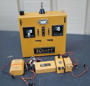 Vintage KRAFT Radio Receiver and Transmitter Set