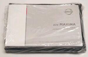 2018 NISSAN MAXIMA SEDAN OWNERS MANUAL SV SL SR S PLATINUM EXCLUSIVE ADVANCE V6