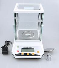 100 x 0.001g 1mg Lab Analytical Balance Digital Precision Scale CE Certification