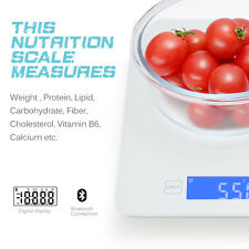 New Digital Kitchen Scale Electronic Food Weighing Scales with Nutritional Facts