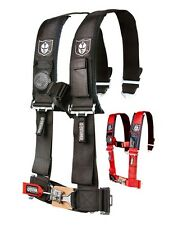 """Pro Armor 5 point 2"""" Safety Harness w/ sewn in pads, light and cell phone pouch"""