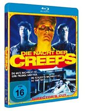 Die Nacht der Creeps - Director's Cut - Blu-ray Disc NEU + OVP!