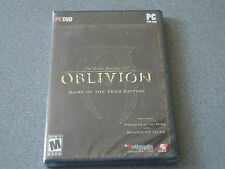 Elder Scrolls IV: Oblivion Game of the Year Edition  DVD Thin Case   GOTY   WIN