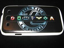 Justice League Hard Cover Case for Samsung S3 III Super heroes Symbols Superman