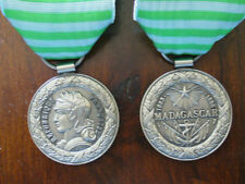 Médaille commémorative de Madagascar 1883-1886 livrée avec ruban - Refrappe