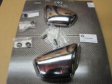 Virago XV700 XV750 XV1000 XV1100 Chrome Side Cover Set With Grommets Left Right