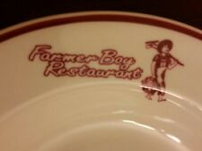 R.J. Designs Restaurant Ware Farmer Boy Restaurant Soup Bowl