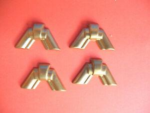 Applikationen Zierteile Eckbeschläge Art Deco Stil T 23