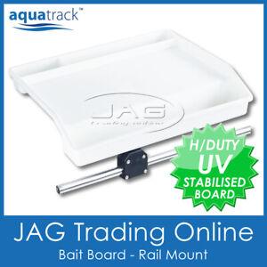 AQUATRACK SMALL RAIL MOUNT BAIT BOARD-Boat Fishing Cutting Board Suit Ø25mm Rail