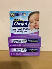 2x Nighttime Orajel Instant Relief For Teeting Pain - Expire 1/19 And Up