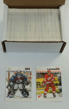 2001-02 Adrenaline Hockey Near Complete Retail Set Missing 2 Cards (#101 & #102)