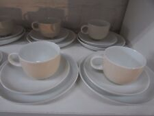 ROSENTHAL TRIOS CUP SAUCER PLATES HERGESTELLT STUDIO-LINIE EGG SHELL PORCELAIN
