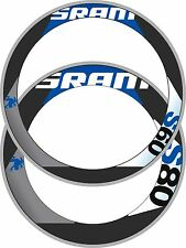 SRAM S80/S60 COMBINATION RIM DECAL SET  FOR TWO WHEELS GIANT BLUE