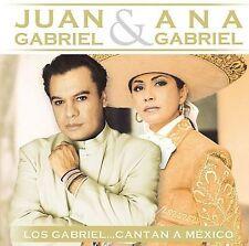 Juan Gabriel & Ana Gabriel Los Gabriel Cantan a Mexico CD New! FREE SHIPPING!