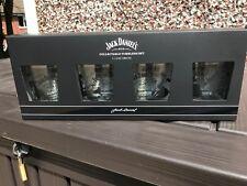 Limited Edition  Set of Jack Daniel's 4 x Rock Glasses