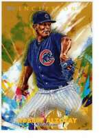 Adbert Alzolay 2020 Topps Inception 5x7 Gold #38 /10 Cubs