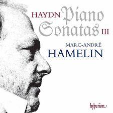 Marc-Andr Hamelin, F.J. Haydn - Piano Sonatas 3 [New CD]