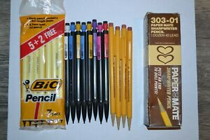 VINTAGE MECHANICAL PENCIL BIC AND PAPERMATE LOT