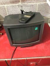 VINTAGE PORTABLE Sony KVM1421U  TELEVISION Retro Colour CRT TV Film Prop Museum