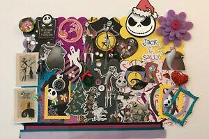 Disney Nightmare Before Christmas Chipboard Mini Book DIY Album Kit Scrapbook