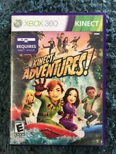Xbox 360 Kinect Adventures Video Game Used Sensor Game Rated E