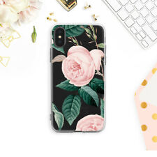 Floral iPhone 12 Mini Case Roses iPhone 11 Pro Max Flowers Cover iPhone SE2 Skin