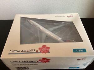 China Airlines 747-400, A330-300 & 737-800 ( NG ) 1/500 Herpa