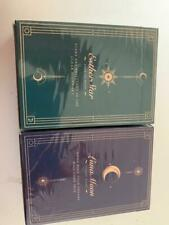 Esther Star & Violet Luna Moon Playing Cards 2 Deck Set Classic not bicycle