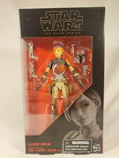 Hasbro Star Wars Black Series 6 Inch #33 Sabine Wren NIB Action Figure