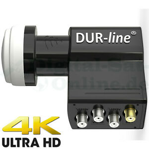 ► DUR-line UK 104-4+3 Teilnehmer LNB - 4x SCR / Einkabel / Unicable + 3Legacy ✅