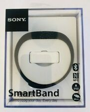 GENUINE Sony SWR10 Smartband Fitness Sleep Tracker Band in Black *BRAND NEW*