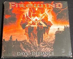 Firewind ‎– Days Of Defiance CD + 4 BT (2010, 2M) New Sealed 17 Track Version